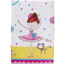 'Ballerina' Plastic Tablecover by Ellen 1pc